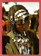 NIGER Marché D'Ayorou Jeune Fille Bouzou - Niger