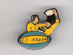 Pin's Epoxy RUGBY E.S ARUDY Pyrénées-Atlantiques 64 - Rugby