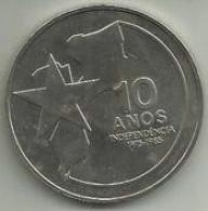 250 Meticáis 1985 Mozambique (Aniv. Independencia) - Mozambique