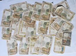 Lot De 25 Billets En Mauvais état - 1871-1952 Anciens Francs Circulés Au XXème