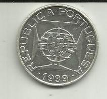 10 Escudos 1939 S. Tomé - Sao Tome Et Principe