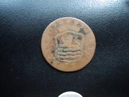 PAYS BAS : ZEELANDIA : (1) DUIT   1797 / 6 *   KM H2b    B+ / TTB - [ 5] Monnaies Provinciales
