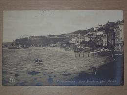 TURCHIA CARTOLINA DA COSTANTINOPOLI PER TRIESTE - Turchia
