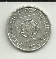 5 Escudos 1939 S. Tomé - Sao Tome Et Principe