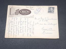 NORVÈGE  - Carte Postale De Bergen Pour Paris En 1963 - L 19328 - Brieven En Documenten