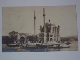 TURCHIA CARTOLINA DA COSTANTINOPOLI PER TRIESTE ANNULLO GALATA - Turchia
