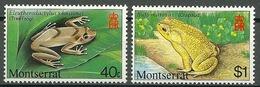Montserrat – Mi.NR. 413+415** Frog Frog [1980] - Kikkers