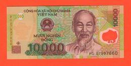 Vietnam Viêt-Nam 10000 Dong Polimero - Vietnam
