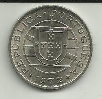 20 Escudos 1972 Angola Rare - Angola