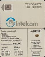 458/ Cameroon; P2. Grey - Logo, 100 Ut., SC5 Afnor, Hole 6 Mm, CN 23771 - Kameroen