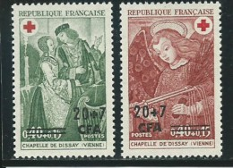REUNION CFA: **, N° YT 391 Et 392, TB - Réunion (1852-1975)