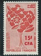 REUNION CFA: **, N° YT 409, TB - Réunion (1852-1975)