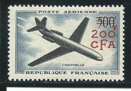 REUNION CFA: *, PA N° YT 56,  Trés Frais, Gomme Altérée, B - Luftpost