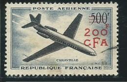 REUNION CFA: Obl., PA N° YT 56,  Rousseur, AB - Luftpost