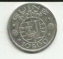 10 Escudos 1952 Guiné Bissau - Guinea-Bissau