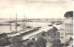 (50) Manche - CPA - Granville - Vue Générale Des Bassins - Granville