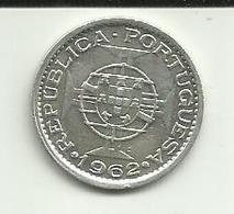 5 Escudos 1962 S. Tomé - Sao Tome Et Principe