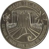 2018 MDP267 - MONTEUX - Wave Island (Le Parc à Thème 100% Glisse) / M D P - Monnaie De Paris