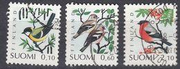 FINLAND - 1991 - Serie Completa Usata: Yvert 1100/1102, 3 Valori, Come Da Immagine. - Finlande