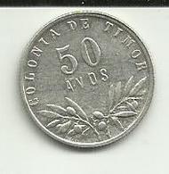 50 Avos 1951 Timor - Timor