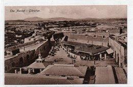 GIBRALTAR-THE MARKET-1910-NON VIAGGIATA - Gibilterra