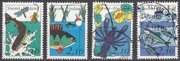 FINLAND - 1991 - Lotto Di 4 Valori Usati: Yvert 1103/1106, Come Da Immagine. - Finlande