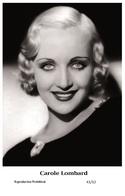CAROLE LOMBARD - Film Star Pin Up PHOTO POSTCARD - 41-12 Swiftsure Postcard - Artisti