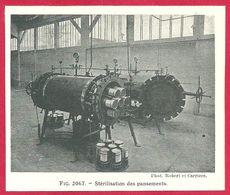 Stérilisation Des Pansements, Larousse Médical De 1934 - Other