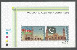 PAKISTAN 2018 BROCHURE  JOINT ISSUE PAKISTAN & AZERBAIJAN WITH OUT STAMPS - Pakistan