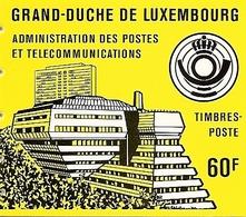 LUXEMBURG, 1966, Booklet 7, Schuman Yellow, Mi MH1b - Booklets