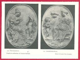 La Prudence Et La Tempérance D'après Les Médaillons De Jacques Sarrazin, Larousse Médical De 1934 - Other