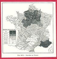 Suicides En France, Larousse Médical De 1934 - Other