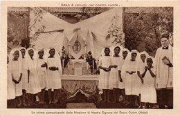 BRASILE-NATAL-LE PRIME COMUNICANDE DELLA MISSIONE DI NOSTRA SIGNORA DEL SACRO CUORE-1910-NON VIAGGIATA - Natal