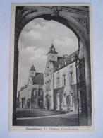 Ansembourg Le Chateau, Cour D'entrée Edit Messageries Paul Kraus N° 626 Carte Provenant De Carnet - Cartes Postales