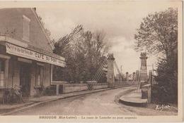 BRIOUDE La Route De Lamothe Au Pont Suspendu - Brioude
