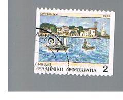 GRECIA (GREECE) - SG 1795B -  1988 PREFECTURE CAPITALS  - USED ° - Grecia