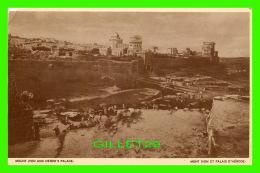 JÉRUSALEM, ISRAEL - MONT SION ET PALAIS D'HÉRODE - - Israel