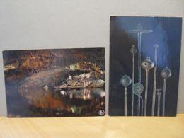 2 CP De Han Sur Lesse - Le Lac + épingles - 1983 ! Vers Mons Et Le Roeulx - België