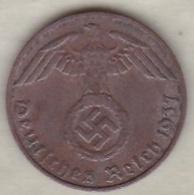 1 Reichspfennig 1937 D (MUNICH).Bronze - [ 4] 1933-1945 : Troisième Reich