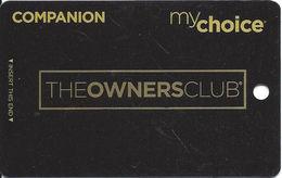 Pinnacle Entertainment My Choice - BLANK The Owners Club Companion @2014 Slot Card - Casino Cards