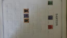 Collection Europe * Et Oblitérés (Dantzig, Egée, Nisiro, Espagne ...) Port Offert Dès 50 Euros D'achat !!! - Timbres
