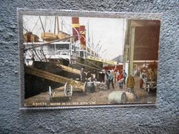 CPA Bateau Boat  Paquebot Anvers Antwerpen Navire De La Red Star Line - Paquebote