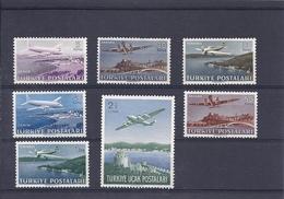 180030362  TURQUIA  YVERT  AEREO  Nº  12/8  */MH   WASHED - 1921-... República