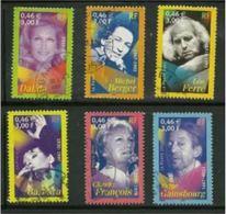 3391 3392 3393 3394 3395 3396 - 2001 - Artistes De La Chanson - Cachets Ronds - France