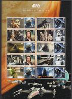 Great Britain MNH Michel Nr 3813/16 From 2015 Star Wars / Catw 22.00 EUR - Ongebruikt
