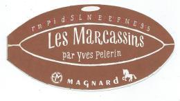 PETIT CALENDRIER 1966 FORME BALLON RUGBY, LES MARCASSINS PAR YVES PELERIN, EDITIONS MAGNARD - Calendars