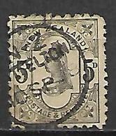 NOUVELLE  ZELANDE   -  1891.  Y&T N° 69 Oblitéré. - Used Stamps