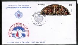 CEPT 1998 MC MI 2403 MONACO FDC - Europa-CEPT