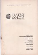 TEMPORADA OFICIAL. GIUSEPPE VERDI, DON CARLOS. TEATRO COLON 1971 PROGRAMA COMPLETO-BLEUP - Programmes