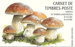 LUXEMBURG, 2004, Booklet 18, Mushrooms - Booklets